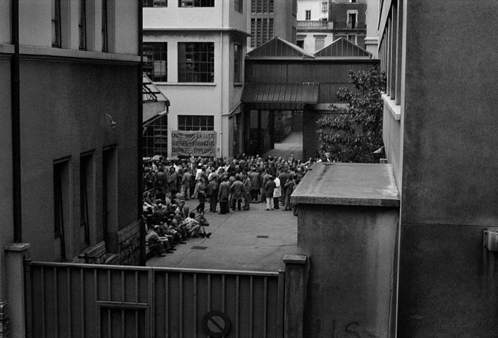 Genève, juin 1975,Débrayage SIP © Interfoto